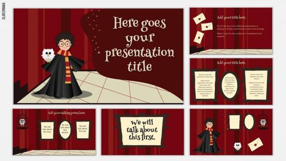 30 Free Google Slides And Powerpoint Themes For Teachers Ditch That Textbook Powerpoint Themes Harry Potter Classroom Google Slides Template