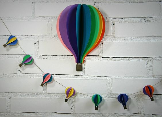 wimpelkette girlande 2m mit hei luftballons ballon pinterest warschau produkte und ballon d 39 or. Black Bedroom Furniture Sets. Home Design Ideas