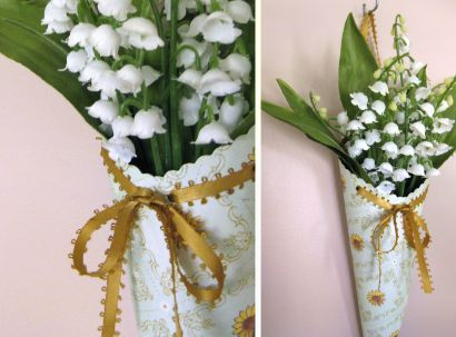 liliy of the valley pictures | lillyella: May Day Flower Cones | I Do!!