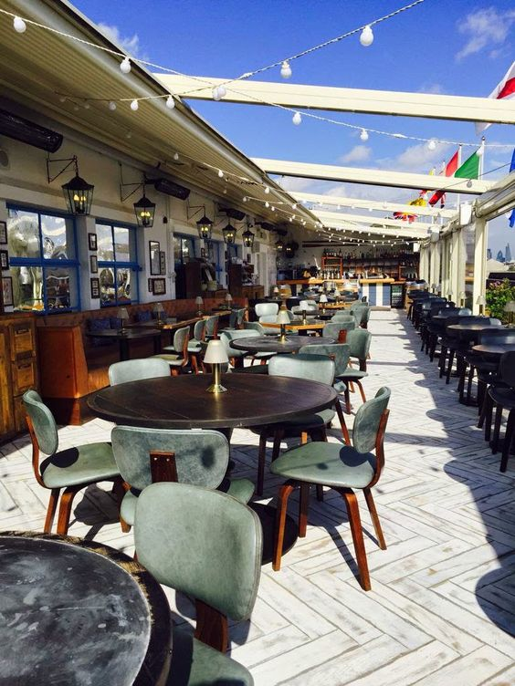 London Pop-ups: The 'Vintage Salt' Summer 2015 Restaurant & Bar on Selfridges' Rooftop