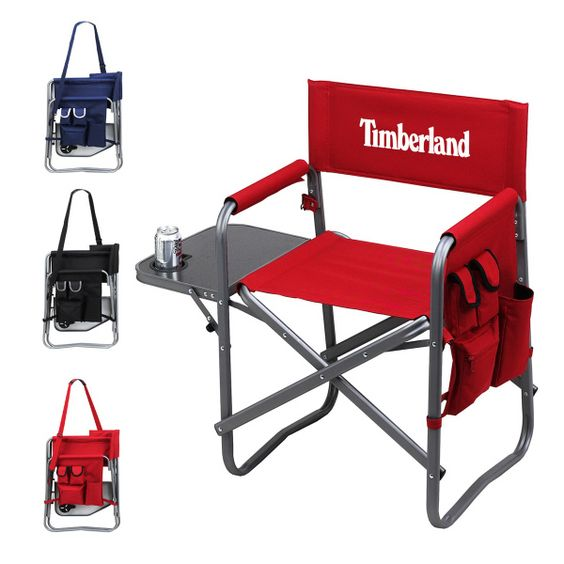 Foldable Aluminum Sports Chair The Ascot folding directors chair is lightweight and ...