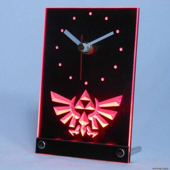 Legend of Zelda LED Clock