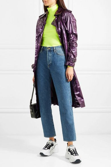 Marc Jacobs | Metallic vinyl trench coat | NET-A-PORTER.COM