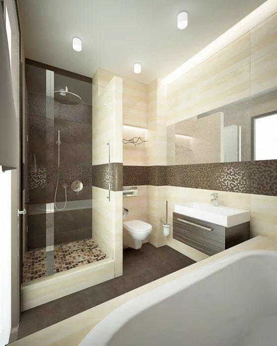 30 Best Inspiring Master Bathroom Design Ideas Minimalist Small Bathrooms Master Bathroom Design Bathroom Interior