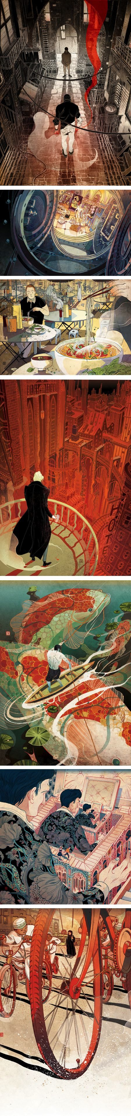 Victo Ngai | Lines and Colors :: a blog about drawing, painting, illustration, comics, concept art and other visual arts: