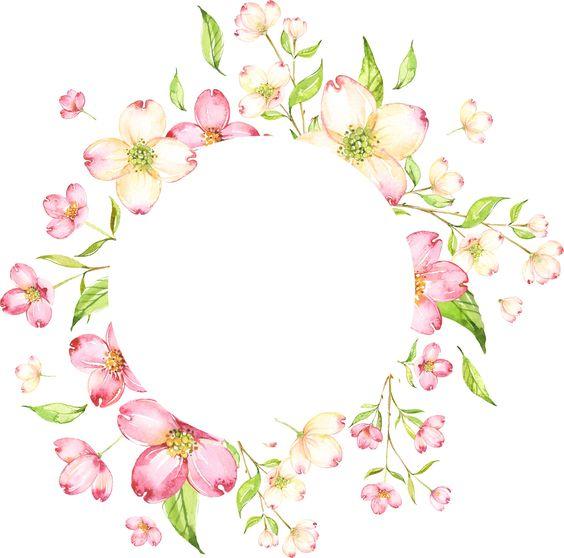 Psiu Noiva - Mais de 30 Frames Florais Para Download Grátis 23