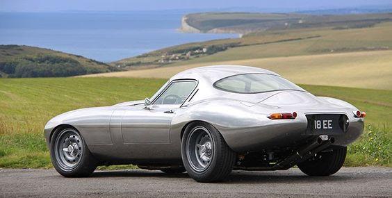The Eagle Low Drag Coupe Jaguar E-Type in aluminium with 4.7 litre fuel injected engine da série boas compras acima de 1 milhão de dolares