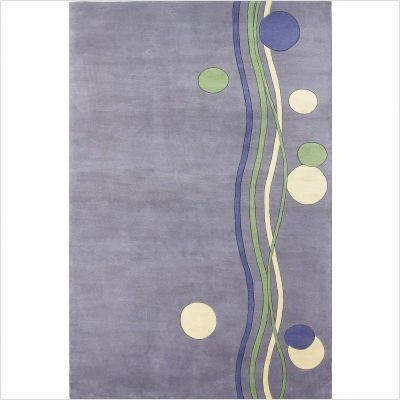 """Signature Bubbly Lavender 2'6"""" x 8'0"""" Runner Rug by KAS. $254.25"""