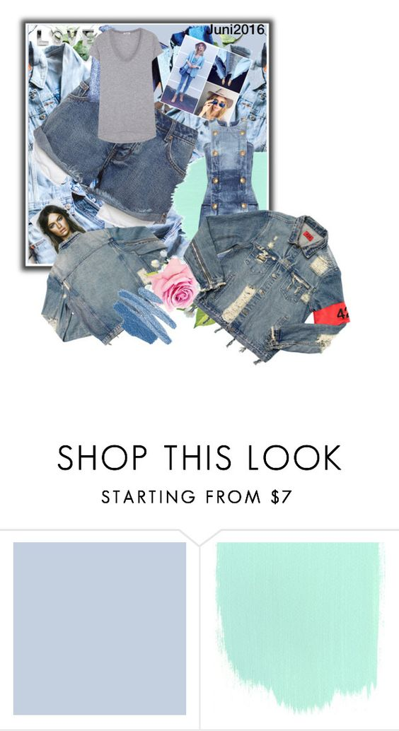 """""""Geen titel #27342"""" by lizmuller ❤ liked on Polyvore featuring Emma Jane, AMIRI and Whiteley"""