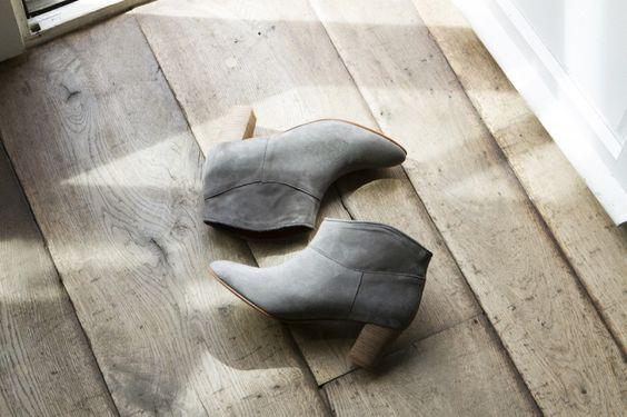 Boots Arsène grise Balzac Paris