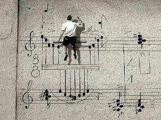 musical wall...