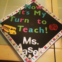 Education major graduation cap!