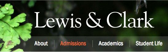 Lewis Clark College Application Information Early Action Deadline Is November 1st Lewis And Clark College College Information Lewis And Clark