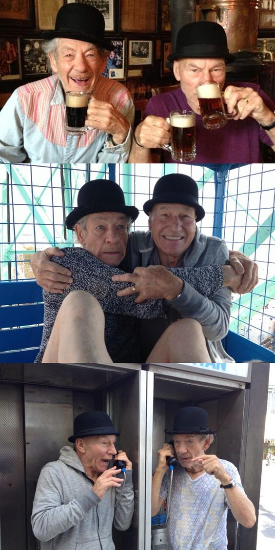 15 reasons we love Patrick Stewart and Ian McKellen
