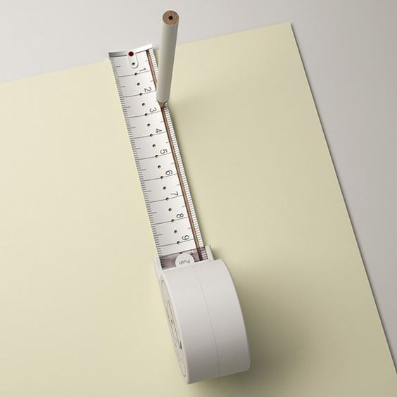 DESIGN FETISH: Hole Measuring Tape