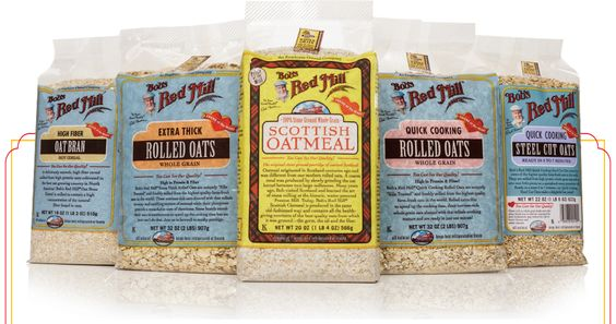 The World's Best Oatmeal :: Bob's Red Mill Natural Foods #BRMOatmeal