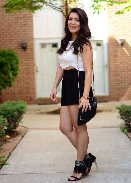 HOW TO WEAR FRINGE AND LACE by Lola Blue Style #LatinaBloggers