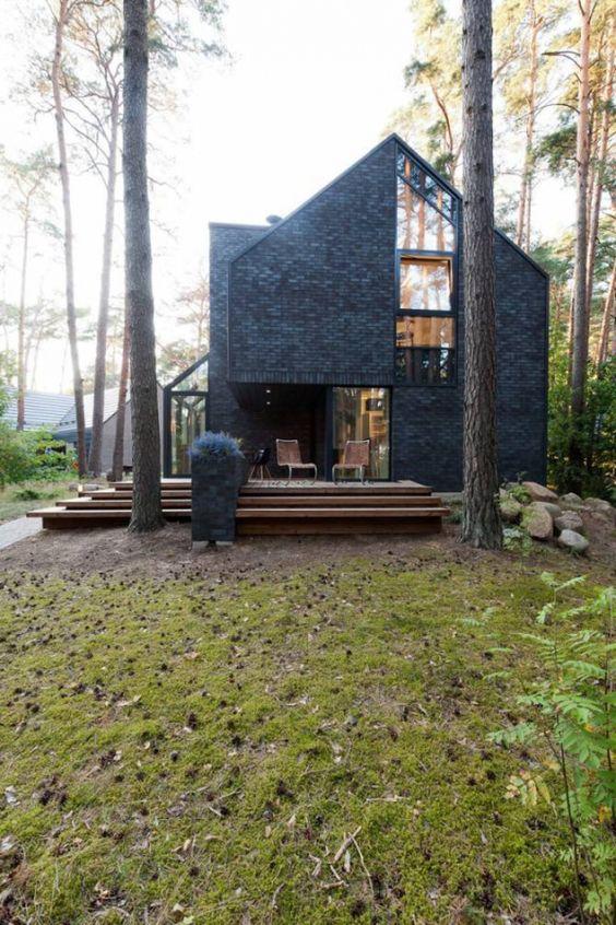 The Black House Blues village house