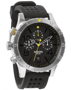 NIXON 48-20 CHRONO Polyurethane strap watches at watchit.ca