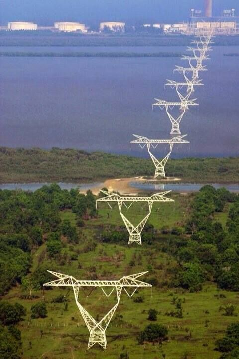 How Many Likes? Beautiful Electrical Power Transmission Towers <3 Join: bit.ley/EEETBLOG