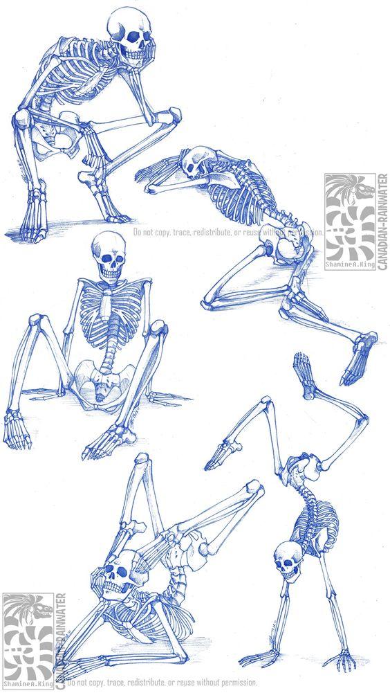 mamamidnight: anatoref: Skeletons Row 1 Row 2:... - Sak's Art Blog #sakart