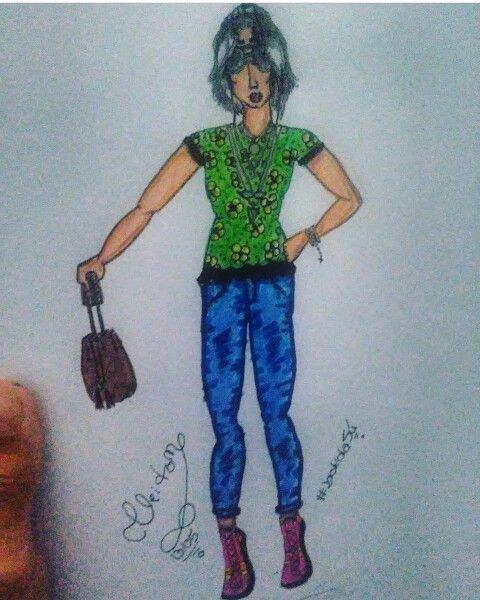 #Modadajú #Modafeminina #Croqui #Desenhos #Style #Lookjú #Adorei