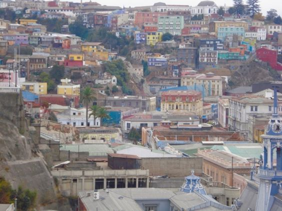 Be aware that a day walking in Valparaiso is not for the faint of heart. The hills are steep and many; the steps are the only thing steeper than the hills. There are of course the famous funiculars to take you partway up the hills, however a few steep climbs are unavoidable.