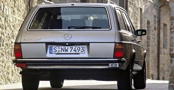Das W123 T-Modell (ab 1977) galt als solides Raumwunder - Foto