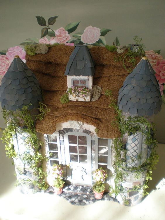 Someday My Prince Will Come Cottage Dollhouse: