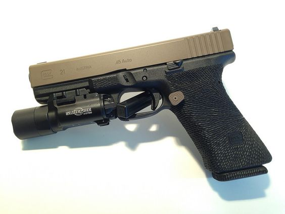 Custom Glock 21SF - custom stippling by Damato | GLOCK ...