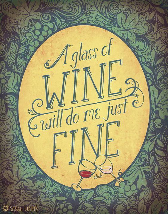 Sometimes. Like tonight. I feel like drinking wine. Lazy wine night it is. heh