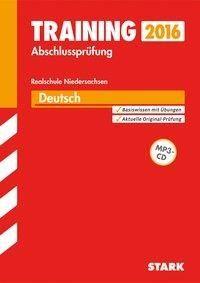 Training Abschlussprüfung Realschule Niedersachsen - Deutsch m. CD - Marion von der Kammer, Frank Stöber