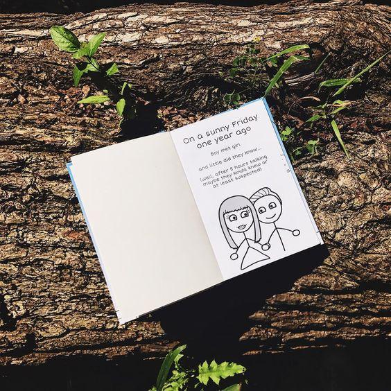 best anniversary gift for husband - lovebook online