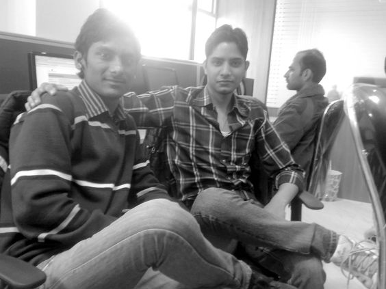 me and my frnd
