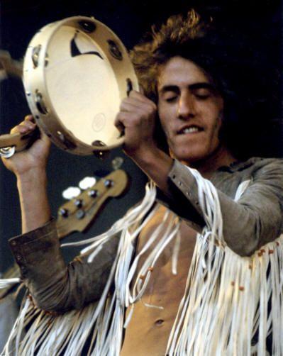 Roger Daltrey onstage in 1969: