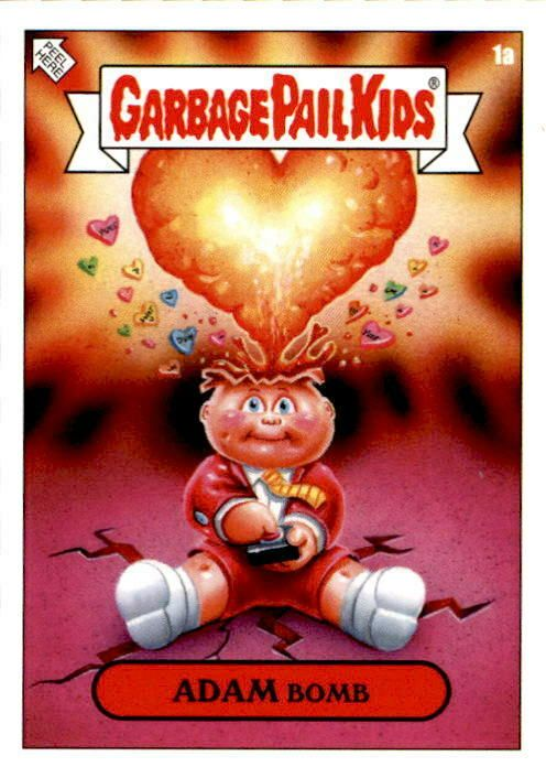 2019 Garbage Pail Kids Valentine S Day Is Gross 20 Sticker Set 750 Made Rare Garbage Pail Kids Garbage Pail Kids Cards Valentines For Kids
