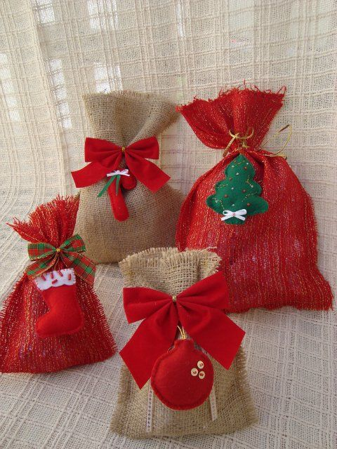 Christmas gift bag ideas for kindergarten