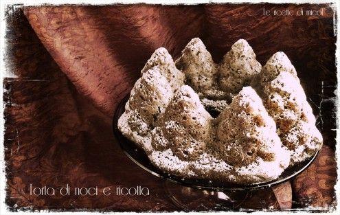 Una torta di noci e ricotta e una fiaba dei Fratelli Grimm.