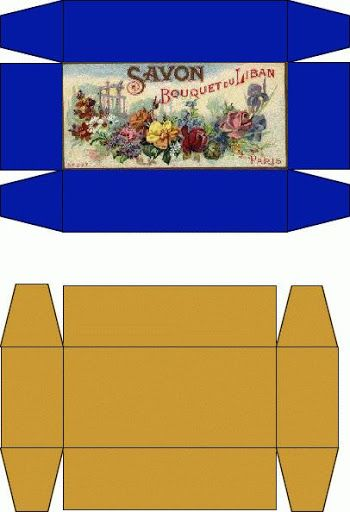 Puppenhaus Tapete Zum Ausdrucken : Miniature Printable Box Template