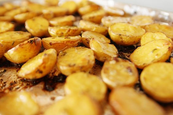 Savory Oven Roasted Potatoes