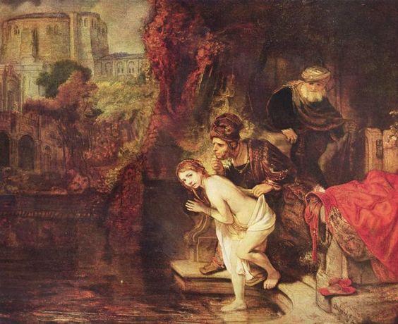 Rembrandt van Rijn. Susanna and the Elders - 1647