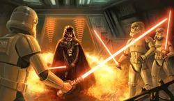 Stormtrooper Saber art