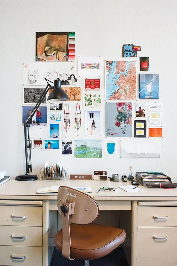 Grid Layout Inspiration Wall