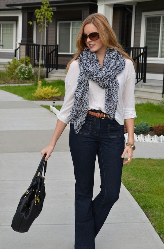 a classic combination. spring business casual look!
