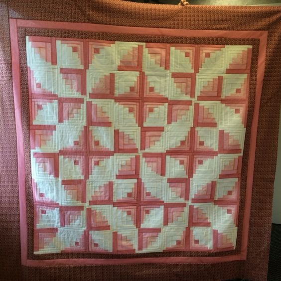 Quilting Grid Patterns : Curved Log Cabin with Creative Grids ruler Log Cabin Quilts Pinterest Creative, Cabin and Logs