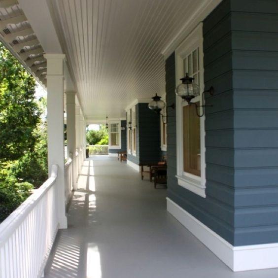 Concrete verandah house inspiration exterior pinterest - Exterior paint concrete image ...