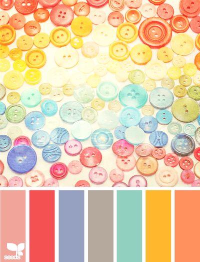 Rainbow Buttons.
