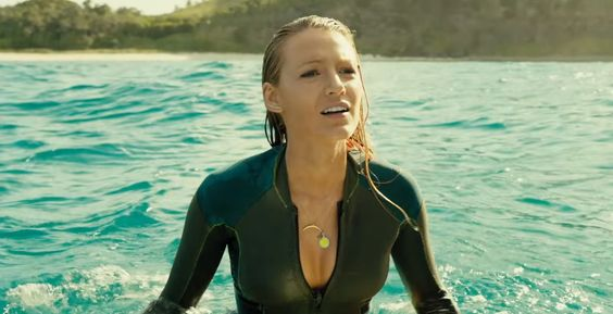 Blake Lively goes surfing in a clip from The Shallows. Watch it here