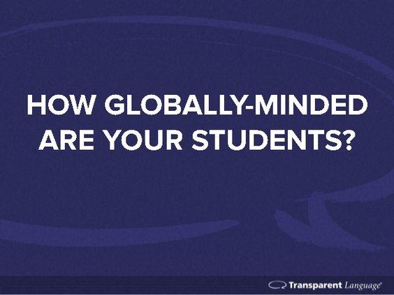 The Importance of Global-mindedness in Education. La importancia de los Idiomas en la enseñanza de EEUU