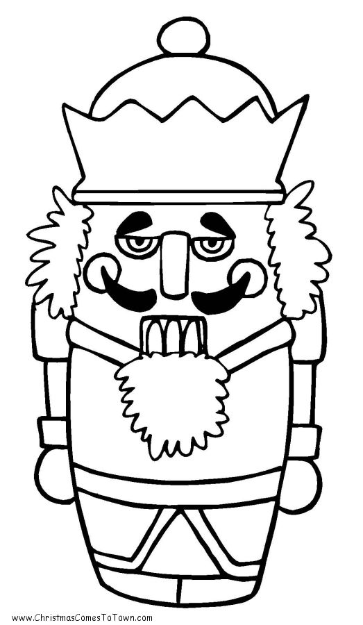 christmas nutcracker coloring pages printable - photo#21